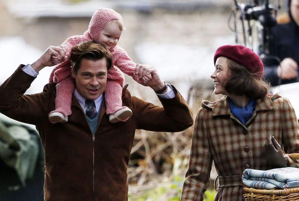 Brad Pitt Marion Cotillard
