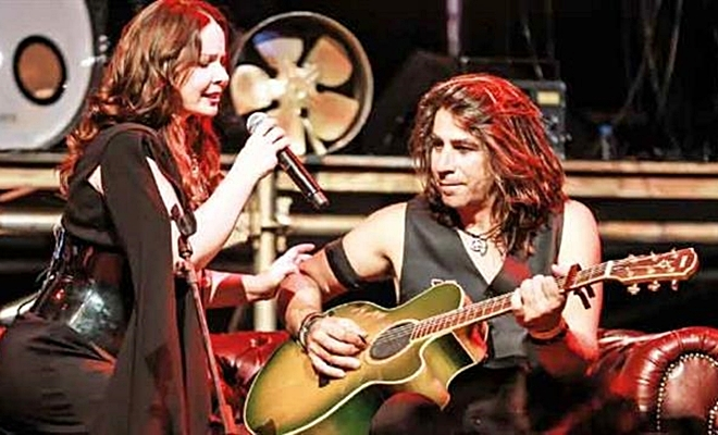 Şebnem Ferah, Harbiye'de rock severlere unutulmaz bir gece yaşattı