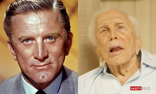 Hollywood'un gelmiş geçmiş en büyük yıldızlarından Kirk Douglas 100. yaşına basıyor