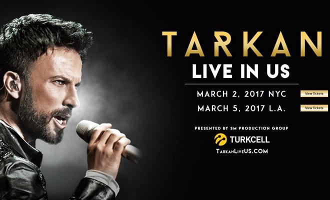 Tarkan'ın New York ve Los Angeles konserlerinin tarihleri belli oldu