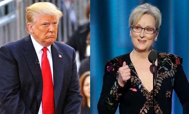 Donald Trump'tan Meryl Streep'e: O bir…