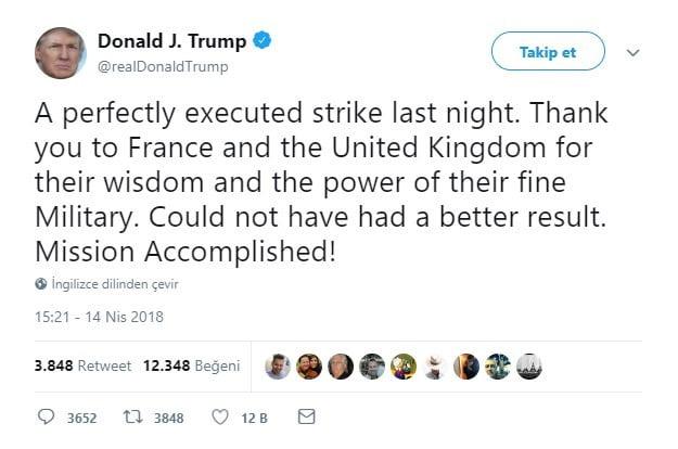 Donald Trump'tan operasyon açıklaması: Mükemmel bir saldırıydı 1