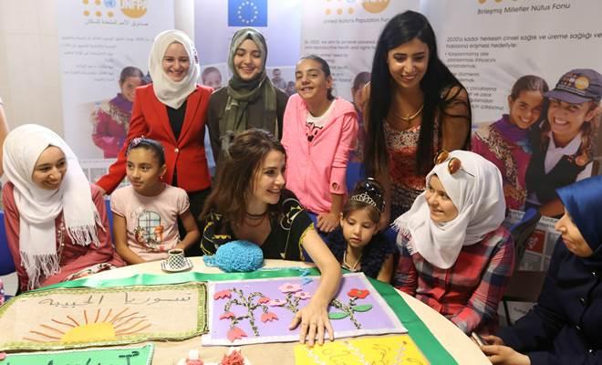 Songül Öden, Suriyeli kadınlarla buluştu 2