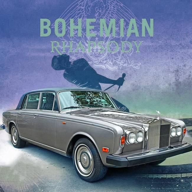 Bohemian Rhapsody ve Rolls-Royce Silver Shadow 1