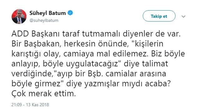 Fenerbahçe'ye FETÖ'cü diyen Süheyl Batum'a sert cevap 4