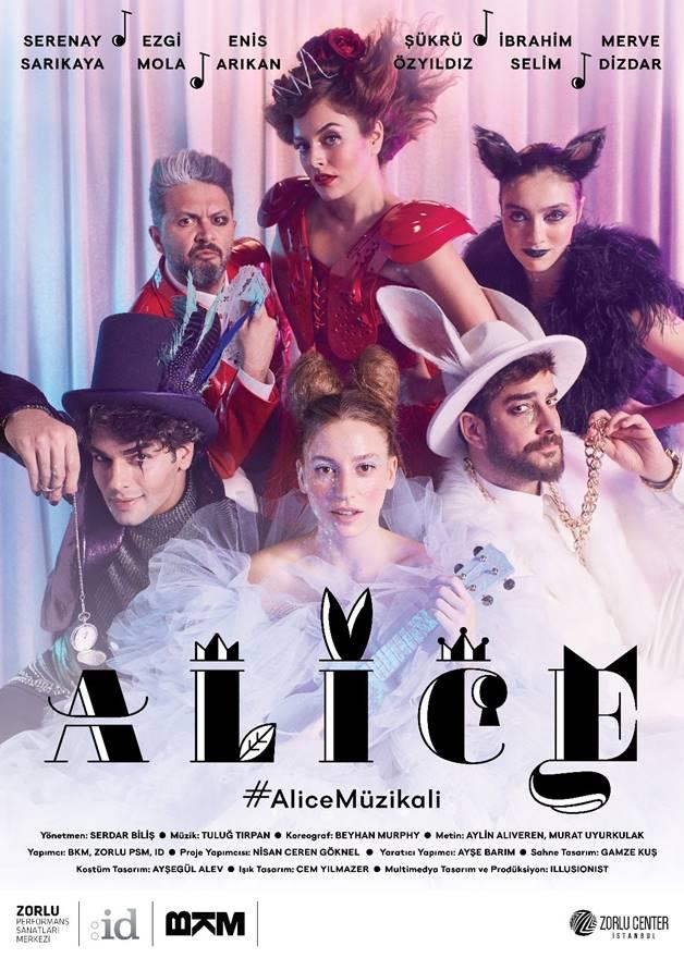 """Merakla beklenen """"Alice Harikalar Diyarında"""" müzikali izleyiciyle buluştu 1"""