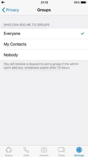 DİKKAT! WhatsApp üzerinden izinsiz olarak gruplara eklenme dönemi bitiyor 1