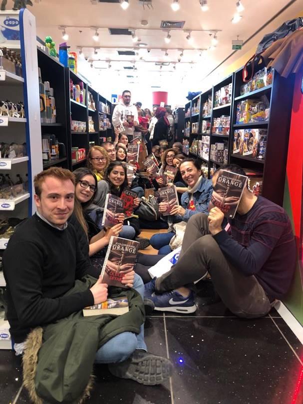 Jean-Christophe Grangé D&R'daki imza gününde Türk okurlarıyla buluştu 1