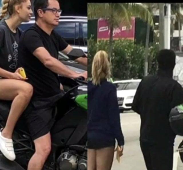 Miami'de tatil yapan Acun Ilıcalı sarışın bir güzelle yakalandı 1