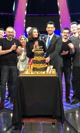 Murat Yıldırım'a stüdyoda sürpriz doğum günü kutlaması 1