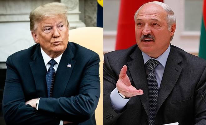 Donald Trump - Aleksandr Lukaşenko